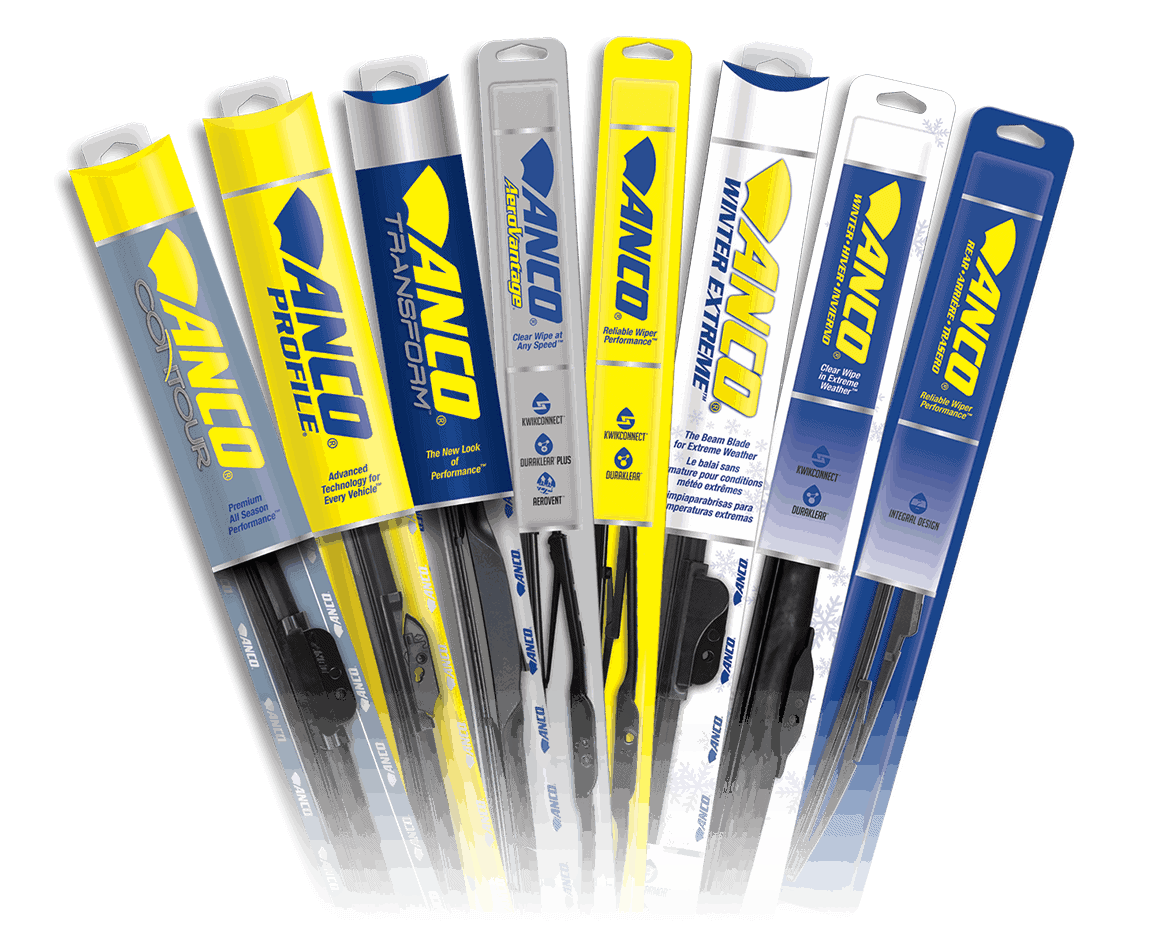 Anco Wiper Blades >> Wiper Blades Central Alberta Paint Supply