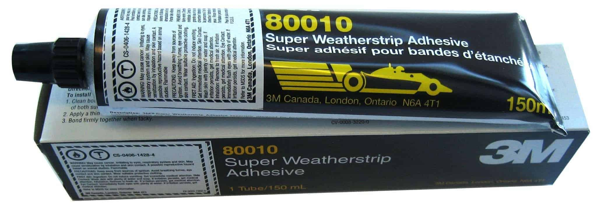 3M SUPER WEATHERSTRIP ADHESIVE YELLOW SKU # 80010